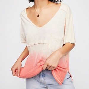 NWT Free People Ombré Tee